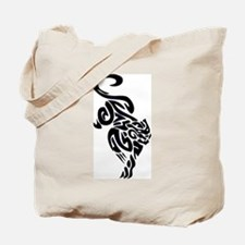 Black Panther Tribal Art 1 Tote Bag