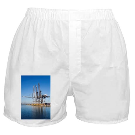 Dockside cranes - Boxer Shorts