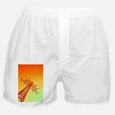 Electricity power lines - Boxer Shorts