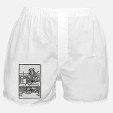 Illustration (1515) of a gager - Boxer Shorts