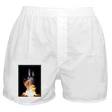 Kepler Mission rocket launch - Boxer Shorts