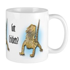 Bearded Dragon Got Crickets Small Mug