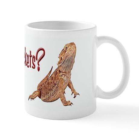 Bearded Dragon Got Crickets Mug
