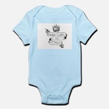 Keep Calm & Love Atticus Infant Bodysuit