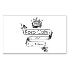 Keep Calm & Love Atticus Decal