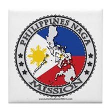Philippines Naga Mission TShirts Gifts Tile Coaste