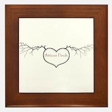 Love Atticus Framed Tile