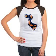E. coli bacteria - Women's Cap Sleeve T-Shirt