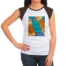 Mitochondrion, TEM - Women's Cap Sleeve T-Shirt