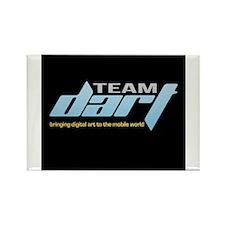 TeamDART Logo Digital Art; Mobile World Rectangle