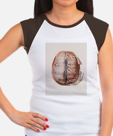 Brain meninges - Women's Cap Sleeve T-Shirt