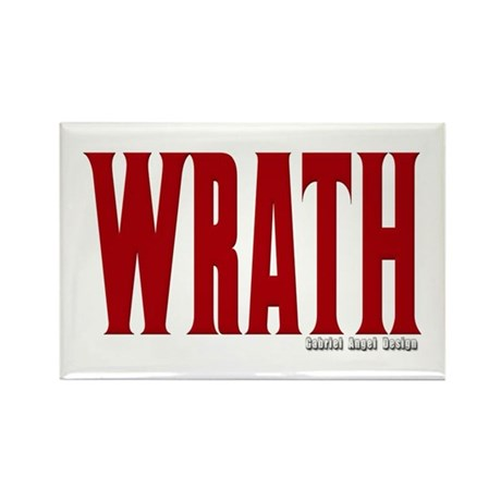 Wrath Logo Rectangle Magnet (10 pack)