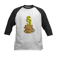 Paragraph symbol on coins - Tee