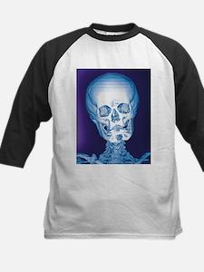 Normal skull, X-ray - Kids Baseball Jersey