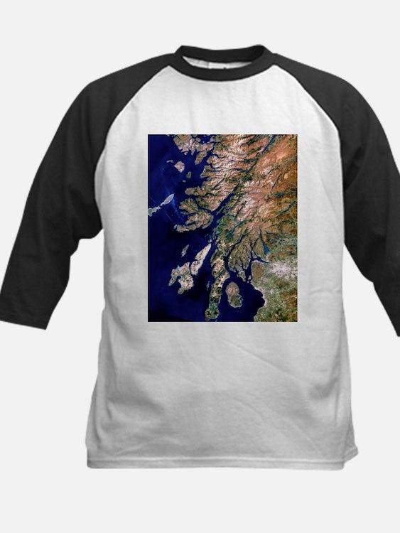 of western Scotland - Kids Baseball Jersey