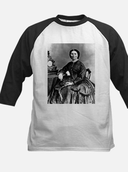 Portrait of Clara Barton - Kids Baseball Jersey
