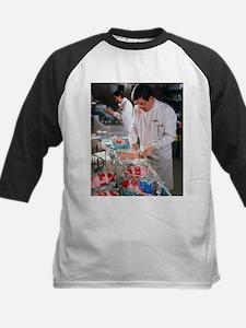 rozen food - Kids Baseball Jersey