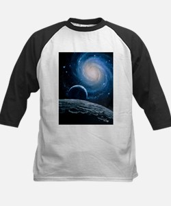Artwork of a spiral galaxy - Tee