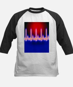 ECG trace of the heart - Tee