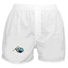Javelin Throw Track and Field Athlete Boxer Shorts