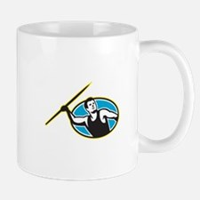 Javelin Throw Track and Field Athlete Mug