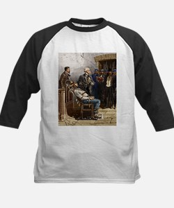 Electric chair, 1890 - Kids Baseball Jersey