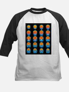 Healthy brain, MRI scans - Kids Baseball Jersey