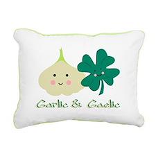 Garlic & Gaelic Rectangular Canvas Pillow