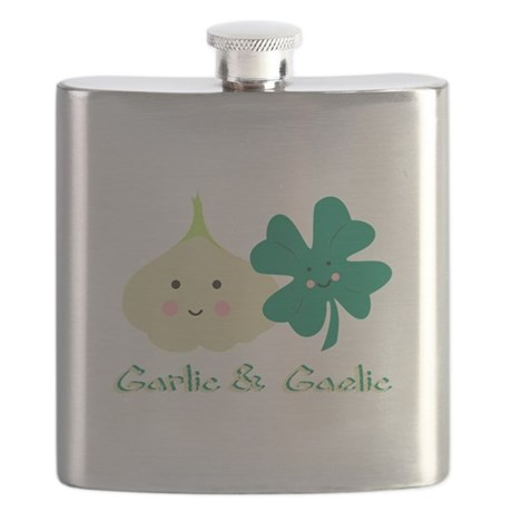 Garlic & Gaelic Flask