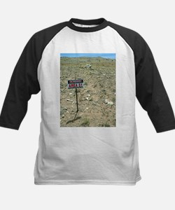 Area 51 UFO site - Kids Baseball Jersey
