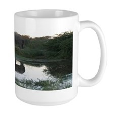 """Elephant """"Day Is Done"""" Mug"""