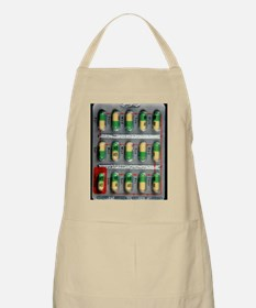 Foil pack of Prozac pills - Apron