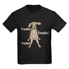 Trouble 2 for black T-Shirt