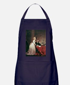 Lavoisier and his wife, 1788 - Apron (dark)