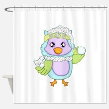Keepsake Owl Shower Curtain