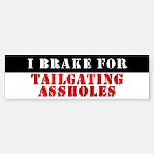 Brake Check! Bumper Bumper Bumper Sticker