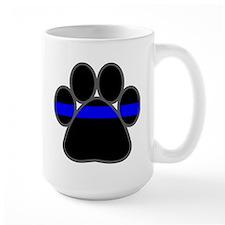 bluelinebadge4light4 Mugs