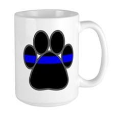 bluelinebadge4light4 Mugs