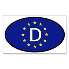 Germany car sticker (Europe) Decal