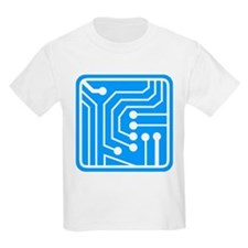 Circuit Board Kids T-Shirt