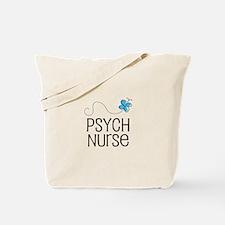 Cute Psych nurse Tote Bag