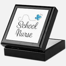 Cute School nurse Keepsake Box