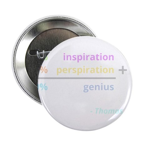 Genius is 1% inspiration and 99% perspiration 2.25