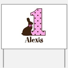 Babys First Easter Custom name Yard Sign