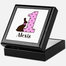 Babys First Easter Custom name Keepsake Box