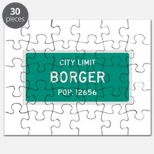 Borger, Texas City Limits Puzzle