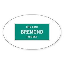 Bremond, Texas City Limits Decal