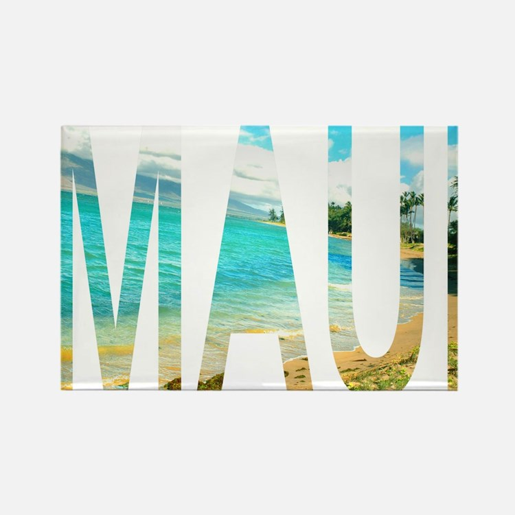 Maui Rectangle Magnet