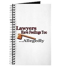 Lawyers Have Feelings Journal