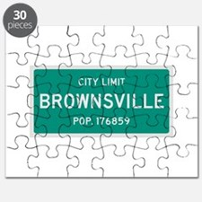 Brownsville, Texas City Limits Puzzle